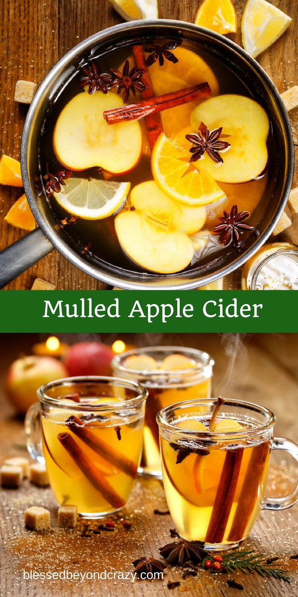 Mulled Apple Cider -