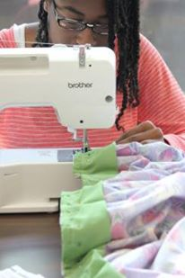 halle in class sewing oct 2014