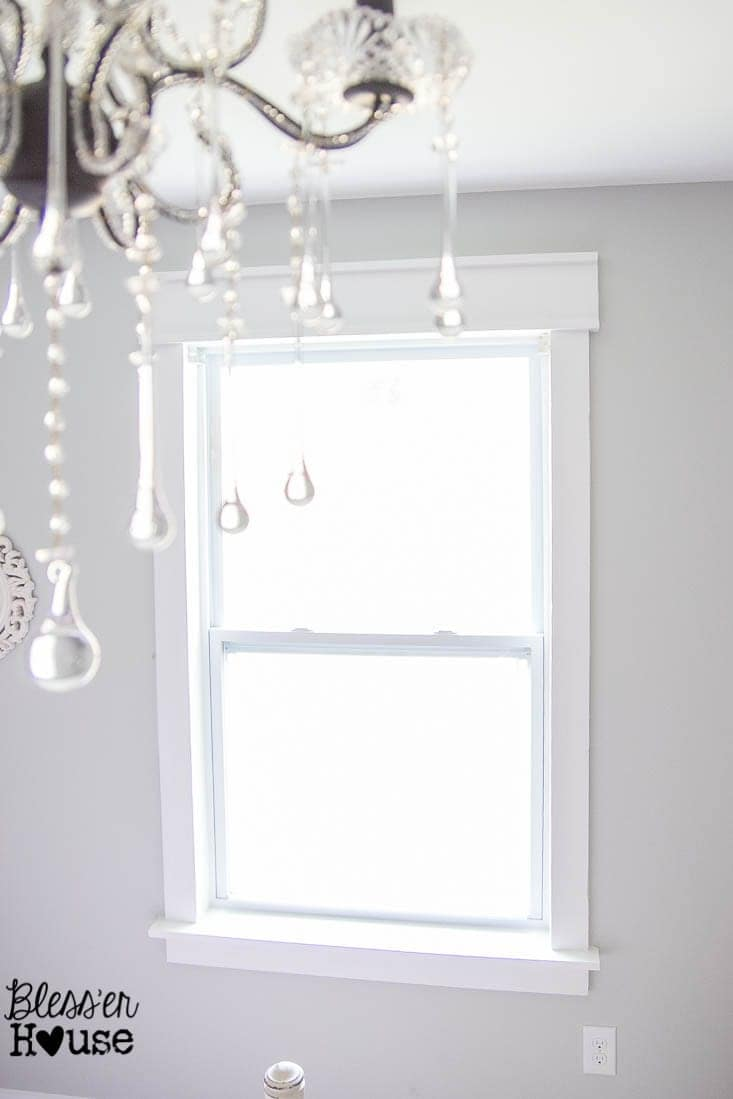 Diy Picture Frame Glass Diy Window Trim The Easy Way