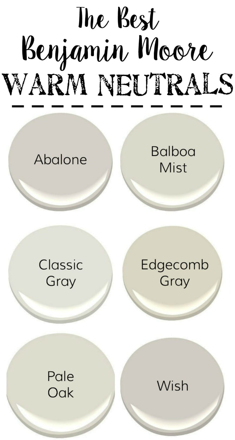 Best Benjamin Moore Gray Colors The Best Neutral Paint Colors Bless Er House