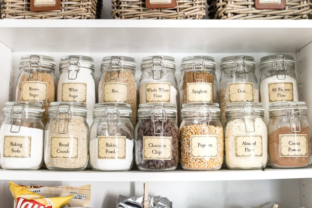 Pantry Organization Pantry Cabinet Organization And Printable Labels Bless Er House