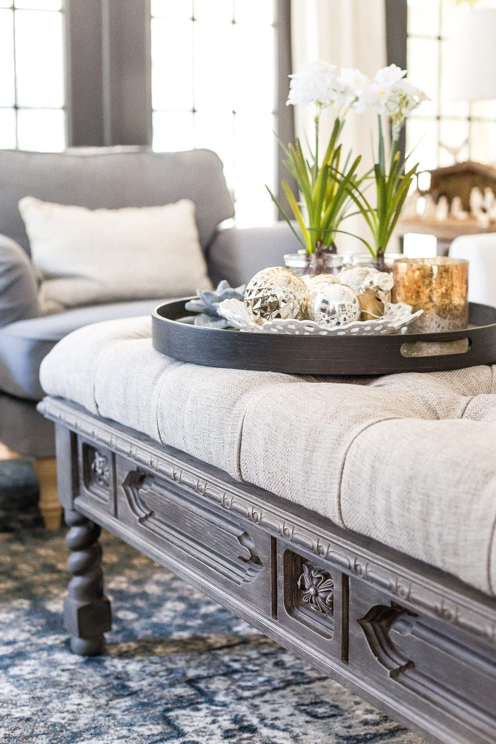 Ottoman Uses Diy Ottoman Bench From A Repurposed Coffee Table Bless Er House