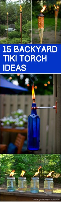 15 Backyard Tiki Torches - Page 7 of 16 - Bless My Weeds