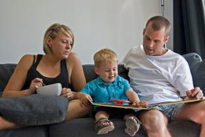 Liesbeth Hallers Haalboom opvoeding vader moeder