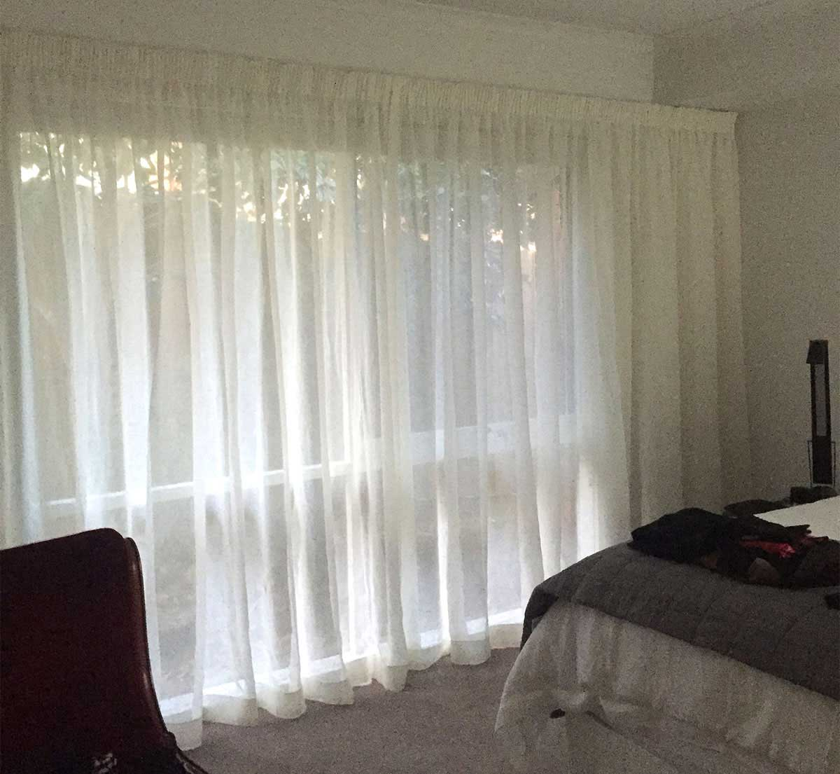 Sheer Curtains Australia Sheer Curtains Over Block Out Roller Blinds Blind Concepts
