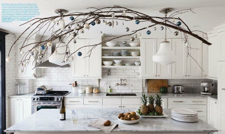 Bamboo Kitchen Island Cart 18 Ways To Decorate With Hanging Branches | The Blinds.com