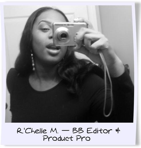 r'chelle mullins blinging beauty editor