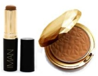 Iman second to none stick foundation and luxury powder Mataano get the look spring 2013