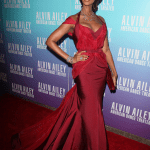 Iman in Zac Posen at Alvin Ailey 2012