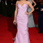 Paula Patton in Vera Wang at Met Gala 2012