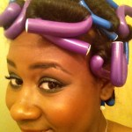 chelsea goody flexi rods stretched soft curls