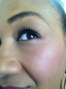 tracey wearing covergirl flamed out mascara covergirl product review