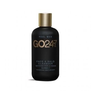 go 24 7 face and bald cleanser