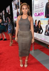 Lauren London attends the premiere of Fox Searchlight Pictures' 'Baggage Claim'