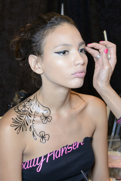 Mally Beauty for Tracy+Reese+Spring+2014+Backstage beauty