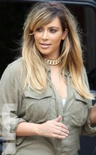 kim kardashian blond hair 2