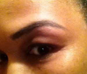 mally eyebrow for review