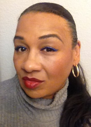 tracey lancome 24 h bold artliner sapphire and rouge in love cocoa couture review 1