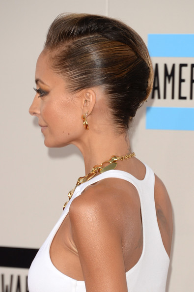 Nicole Richie hair 2013 AMAs getty images