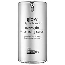 DR. BRANDT SKINCARE glow by dr. brandt™ overnight resurfacing serum