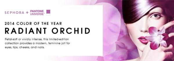 sephora featured radiant orchid