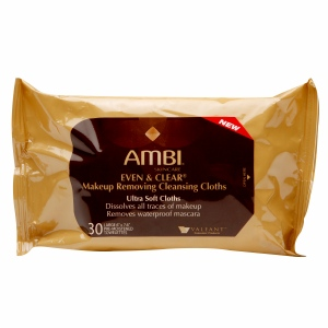 Budget Beauty Tuesday- Editor's Pick—Ambi Even & Clear Makeup Removing Cleansing Cloths