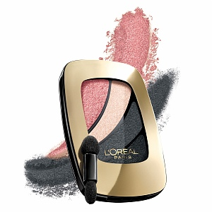 L'Oreal Paris Colour Riche Shadow Quad, Shopping Spree 560 (Pink) 0.17 oz