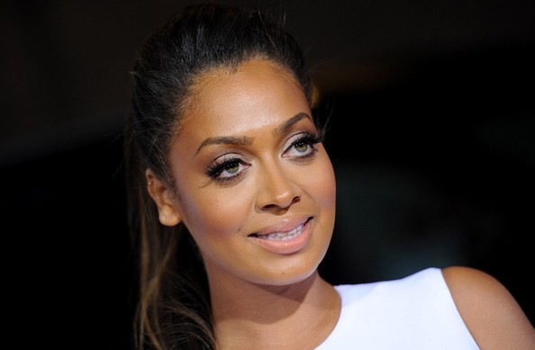La La Anthony at the 'Baggage Claim' premiere at the Regal Cinemas in Los Angeles on September 26, 2013