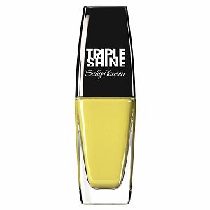 Sally Hansen Triple Shine Nail Polish, Statemint yellow