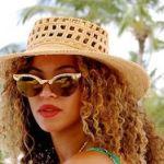 beyonce gold custom made cat eye sunglasses