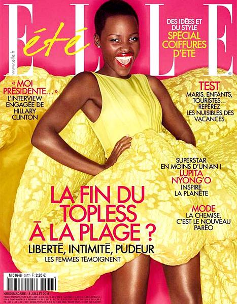 lupita nyongo elle france cover july 2014