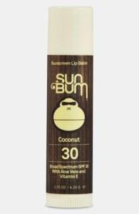 Sun Bum Coconut Lip Balm Broad Spectrum SPF 30