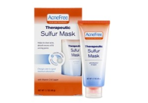 cneFree® Therapeutic Sulfur Mask.