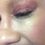 NYC Bronze Shimmer eye sparkle dust swatch review 2