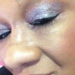 nyc eye dust bronze shimmer diamond