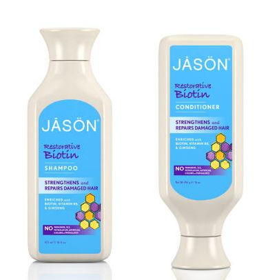 jason Restorative Biotin Shampoo and conditioner