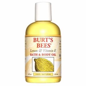 Burt's Bees Body  Bath Oil Lemon  Vitamin E
