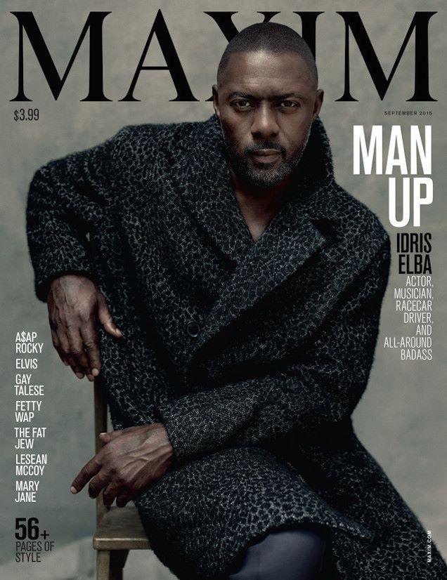 Idris Maxim cover september 2015