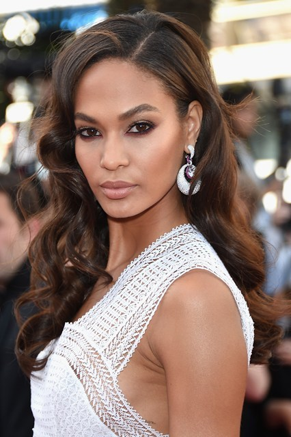 Joan Smalls Wavy Hair