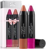 Laura Geller Love Me Dew Lip Crayon Mini Duo