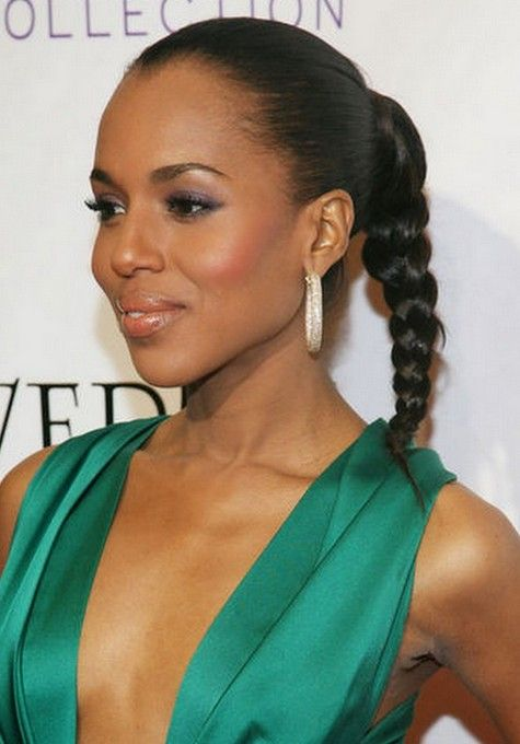 Kerry Washington braid