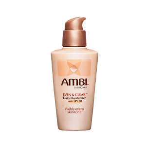 ambi even and clear daily moisturizer