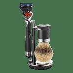The Art of Shaving Razor, Brush and Shaving Stand Set Lex Power Razor w Brush and Stand