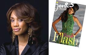 Jones Magazine editor-in-chief Tracey Ferguson
