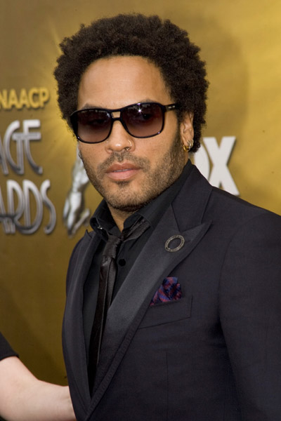 Lenny Kravitz 41st NAACP awards Getty Images