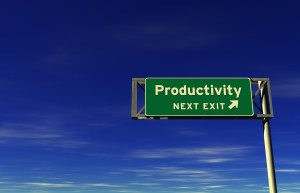 Productivity Freeway Exit Sign
