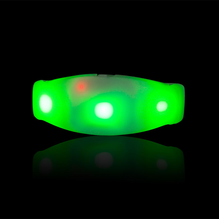 Led Dmx Dmx 512 Remote Controlled Leds Led Illuminated Bracelet Remote Control Activated Bracelet