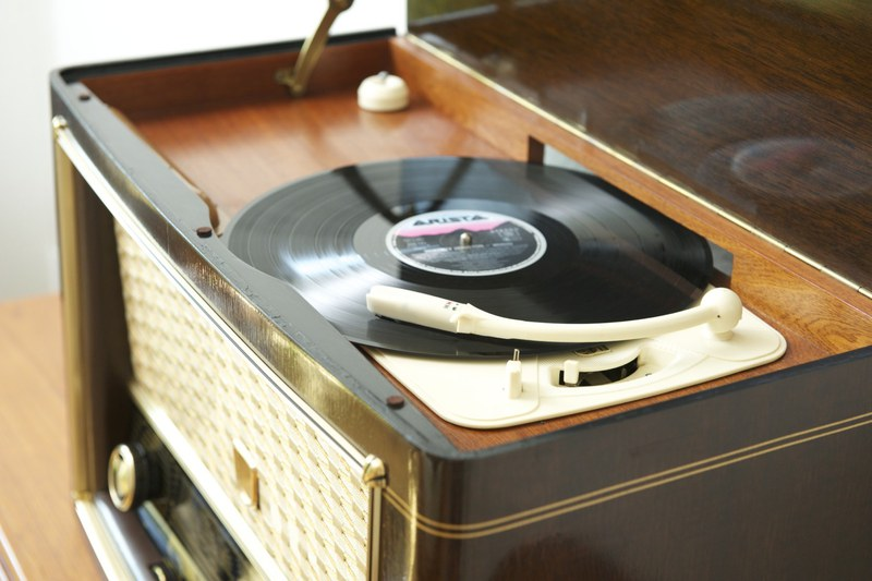 Sessel Mit Radio Philips Jupiter Phonosuper 554, 1955 (radio/lp/iphone