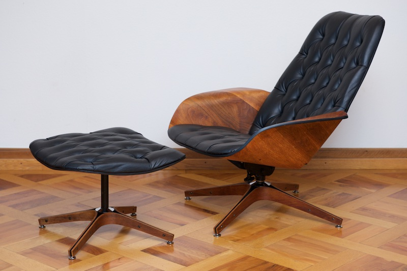 "Lounge Sessel Drehbar Original ""mr. Chair"" By George Mulhauser, 1955 – Bliss"