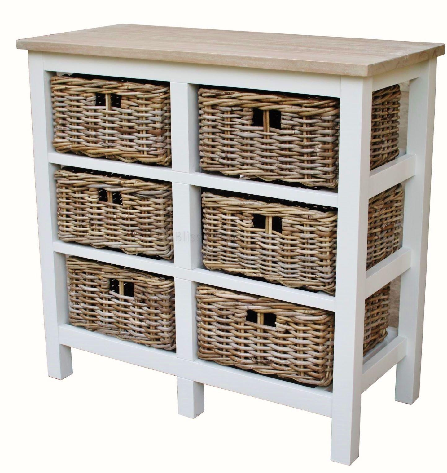 Superieur 6 Drawer Basket Storage Unit Bliss And Bloom Ltd. SaveEnlarge